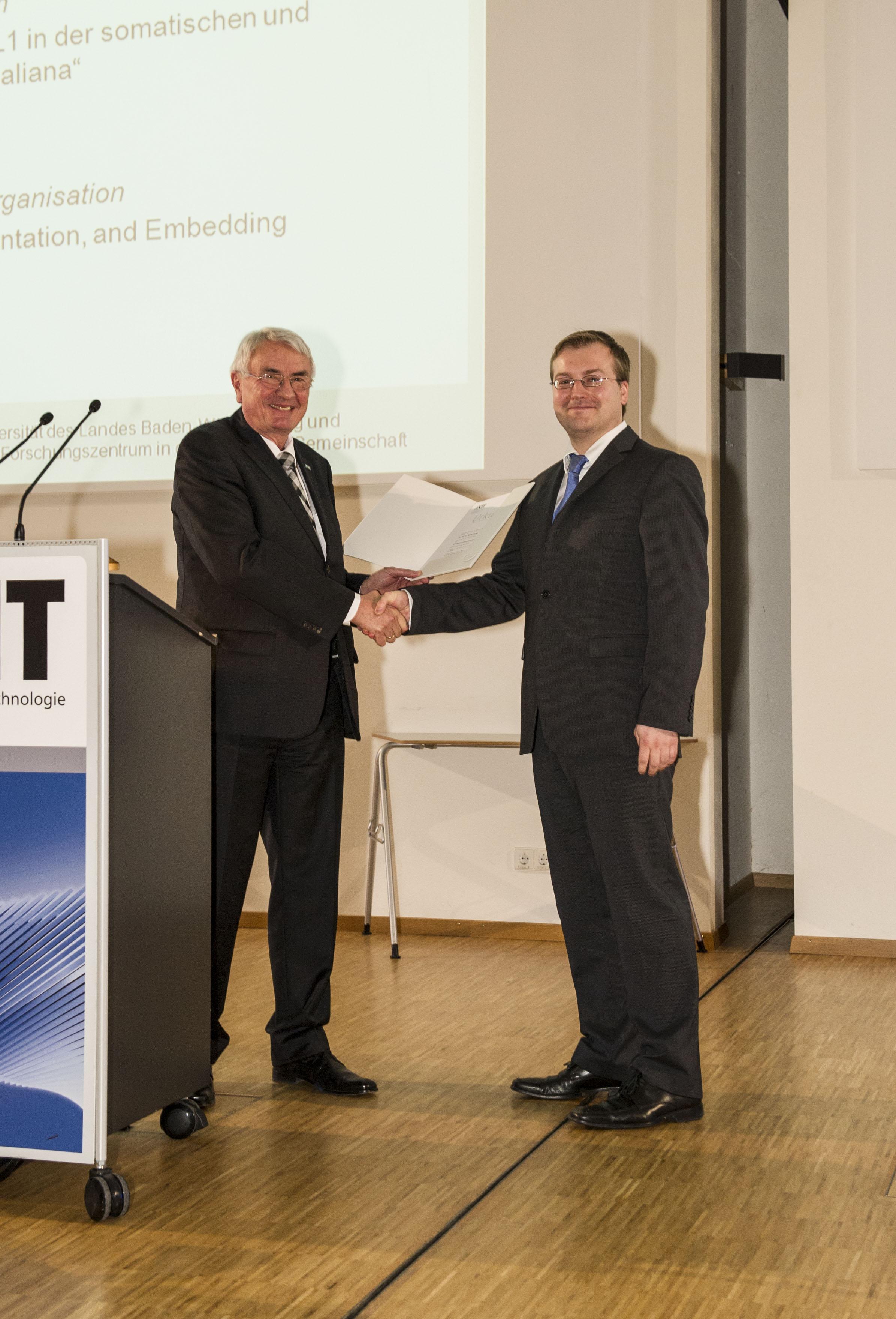 Kit Department Of Informatics List Kit Doktorandenpreis An Dr