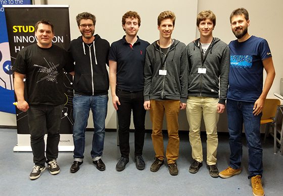 Die Gewinner des Student Innovation hack